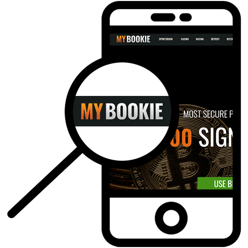 Zoom in at MyBookie.ag mobile phone