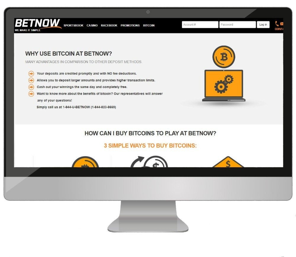 Computuer with Betnow Banking options