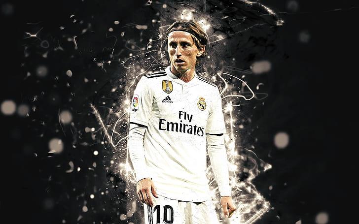 Luka Modric in Real Madrid uniform