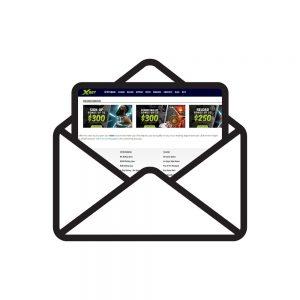 XBet Bonus Envelope
