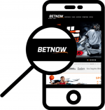 Zoom in at BetNow mobile phone