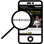 Zoom in at Bookmaker mobile phone